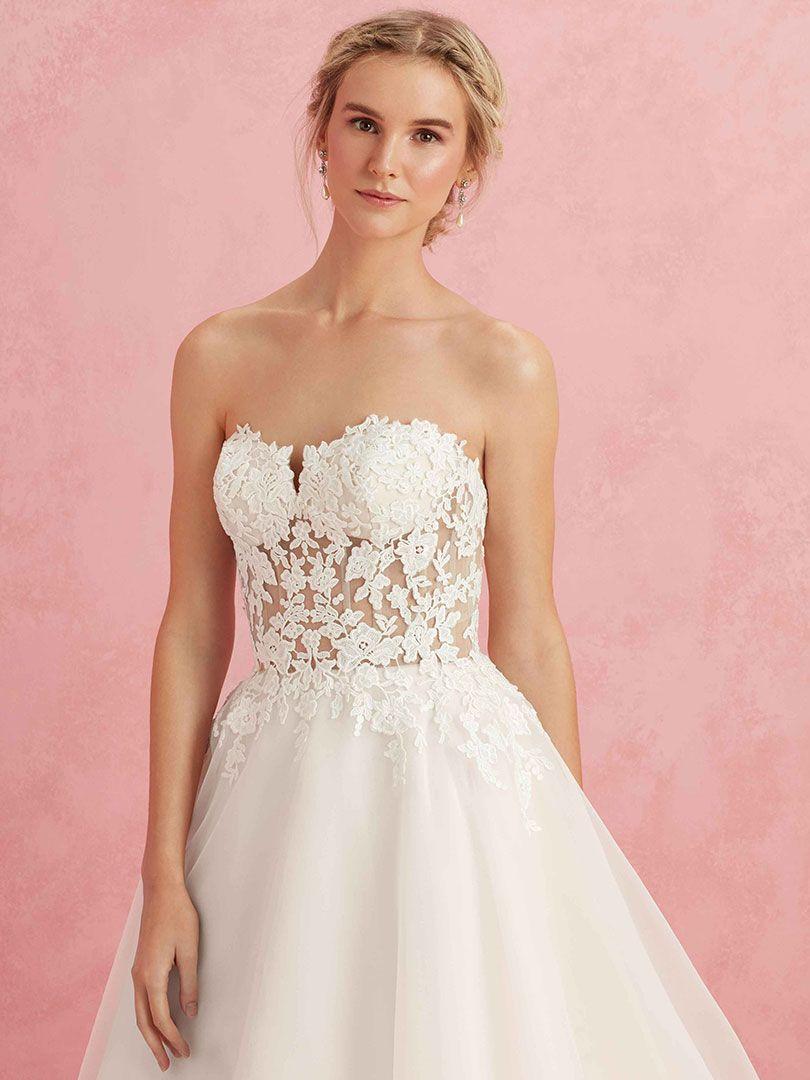 Top Five Sheer Wedding Dresses by Beloved / Blog / Beloved By ...