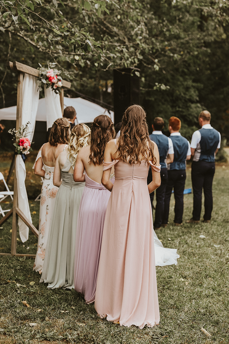 Warm-Toned Rustic Outdoor Wedding | Style BL219 Sweet Ballgown Wedding Dress from Beloved by Casablanca Bridal
