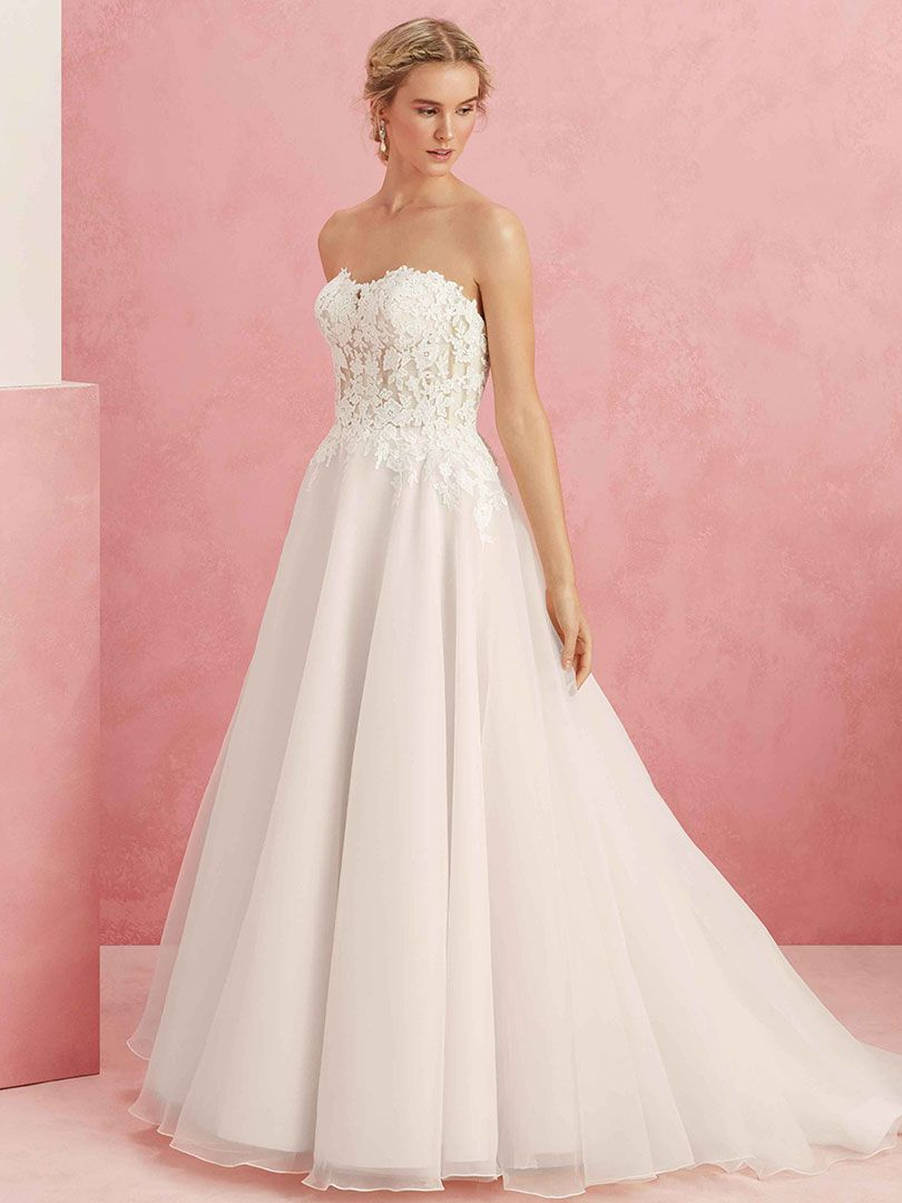 Top Five Sheer Wedding Dresses by Beloved / Blog / Beloved By ...