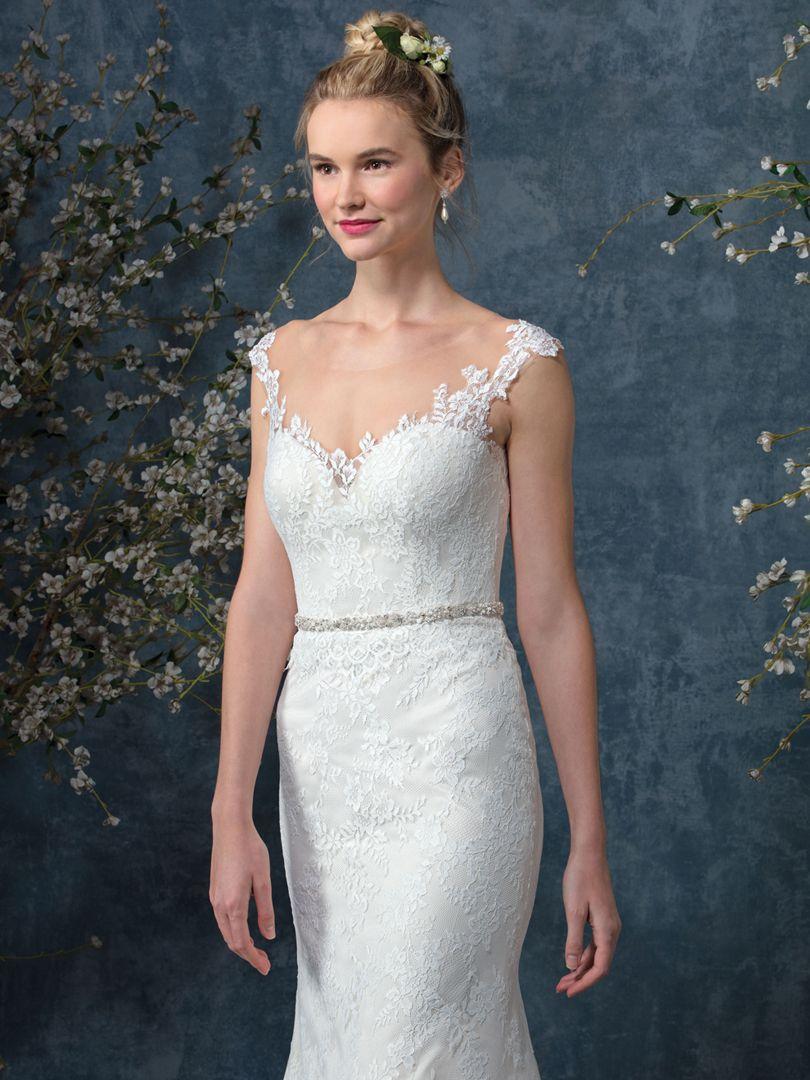 Top Wedding Dresses with Cap Sleeves by Beloved / Blog / Beloved By ...