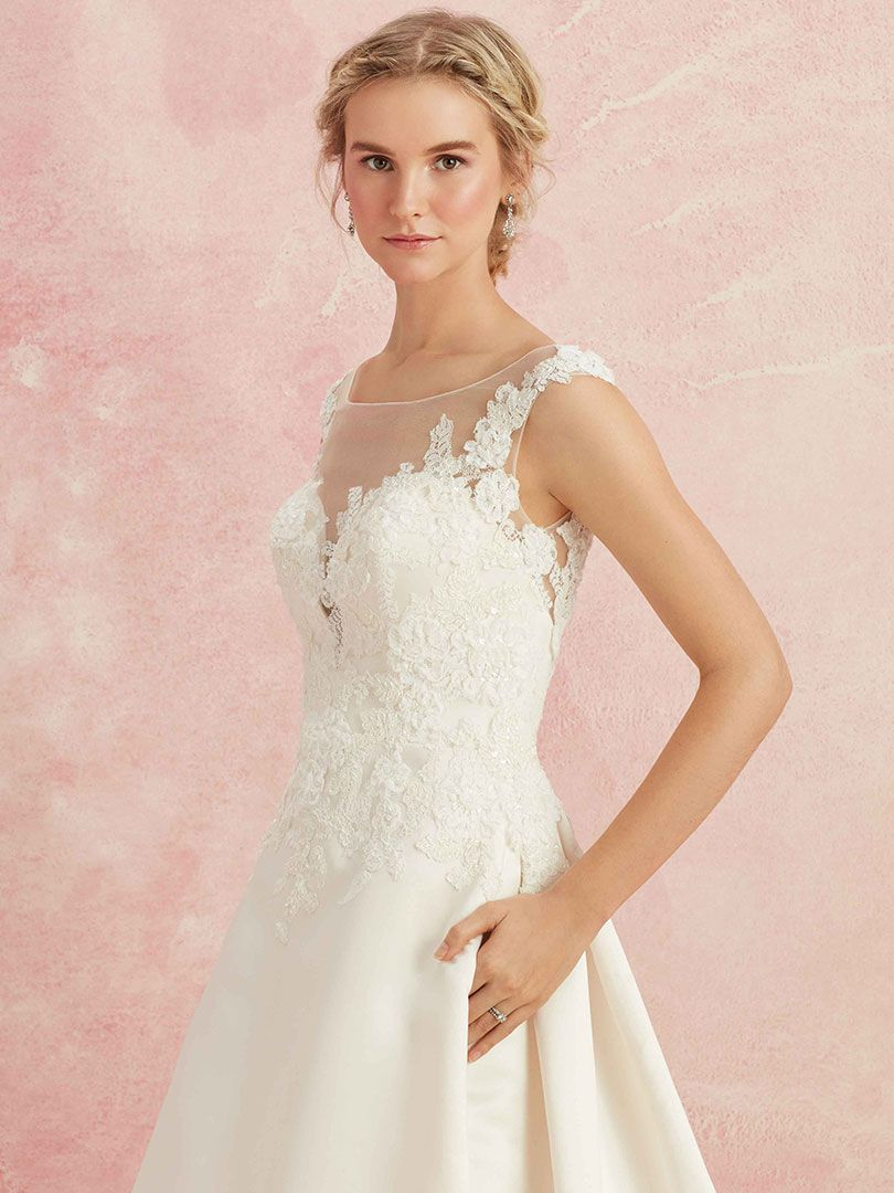 Top Wedding Dresses with Cap Sleeves by Beloved / Blog / Beloved By ...