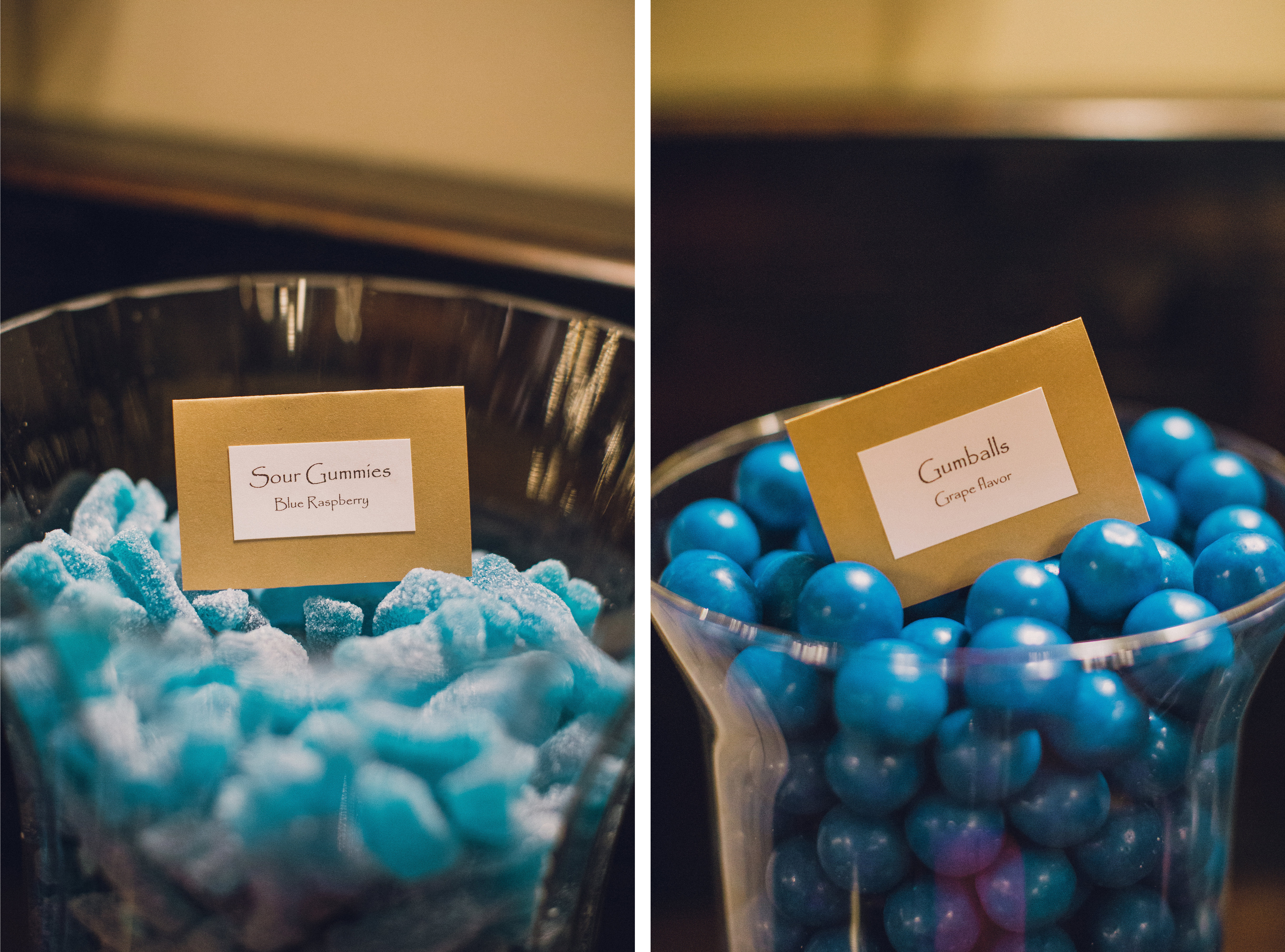 Blue Candy for Weddings